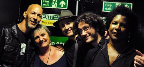 With Chad Strentz, Hazel Hazel, Francesco and Fred