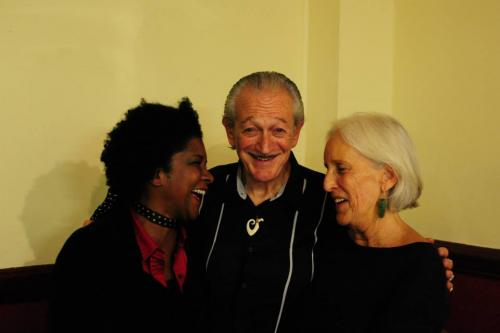 With Charlie Musselwhite and his lovely wife