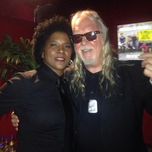 With John Fiddler (Medicine Heads)