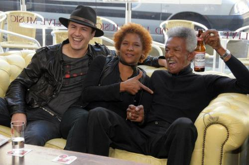 With Lil Jimmy Reed and Francesco